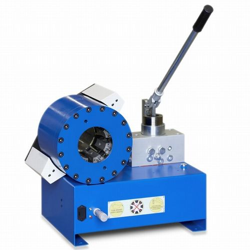 hose crimping machine / hydraulic hose / manual / lever-operated