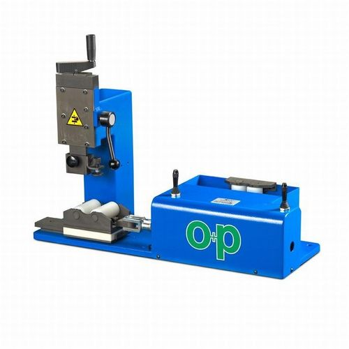 roll marking machine / benchtop / pneumatic / for tubes