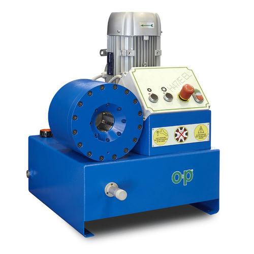 hose crimping machine / hydraulic hose / automatic