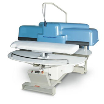electric press / lamination / high-pressure / for textiles