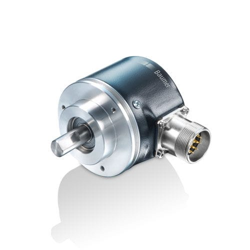 absolute rotary encoder / optical / with serial interface / solid-shaft