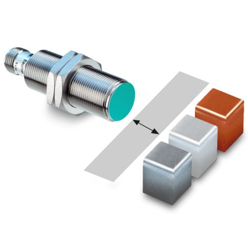 inductive proximity switch / threaded cylindrical / IP67 / with switching function