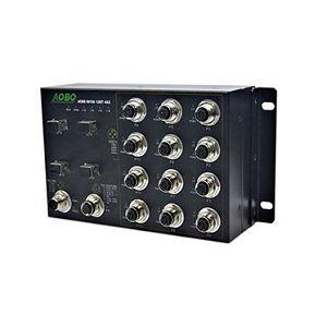 managed ethernet switch / gigabit Ethernet / layer 2 / EN50155
