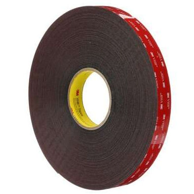 double-sided adhesive tape / acrylic foam / industrial / foam
