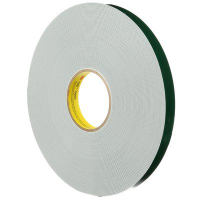 double-sided adhesive tape / acrylic foam / industrial / film