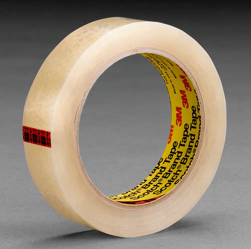 acrylic adhesive tape / for logistics / transparent