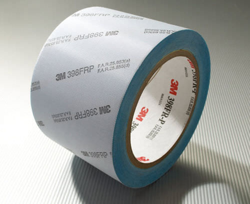 double-sided adhesive tape / acrylic / for glazing / film