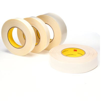 double-sided adhesive tape / acrylic / polyester / industrial