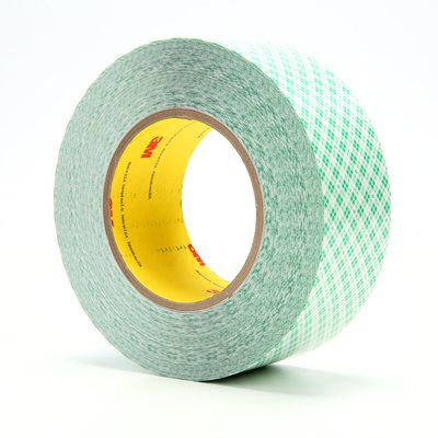 double-sided adhesive tape / rubber / polyethylene / industrial