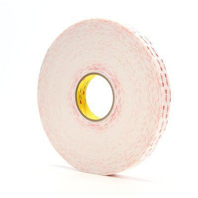 double-sided adhesive tape / acrylic foam / industrial / UV-resistant