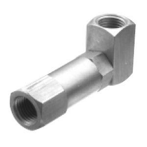 spray atomizing nozzle / for liquids / compressed air / gas