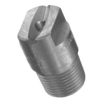 high-pressure nozzle / spray / flat spray / stainless steel
