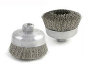 cup brush / finishing / cleaning / deburring