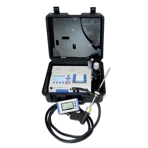 gas analyzer / sulfur / flue gas / portable
