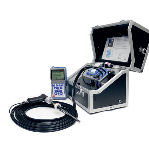 gas analyzer / sulfur / portable / compact