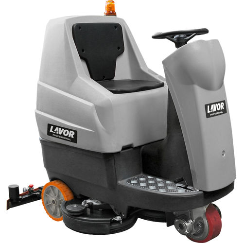 ride-on scrubber-dryer