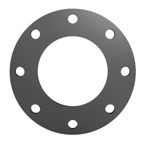 pipe flange / steel / through-hole / flanged