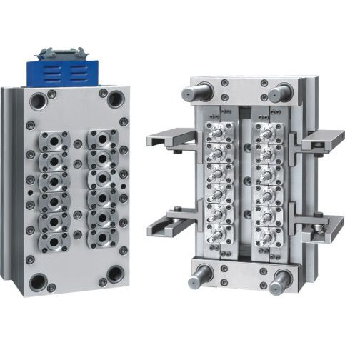 multi-cavity plastic injection mold / packaging / preform / for the packaging industry