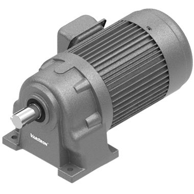 helical gear reducer / concentric / high-performance / low-noise
