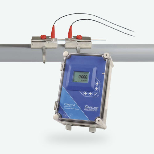 ultrasonic flow meter / for water / for oil / for chemicals