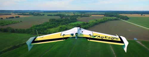 fixed-wing UAV / aerial photography / for agricultural applications / carbon fiber