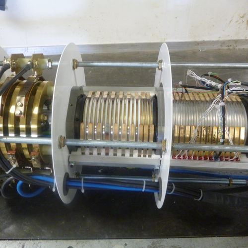 electric slip ring / hollow-shaft / for research and development