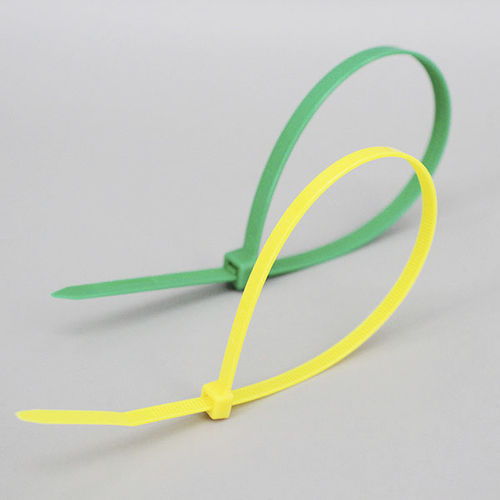 nylon cable tie / flameproof / UV-resistant / outside serrated