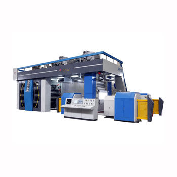 eight-color flexographic press