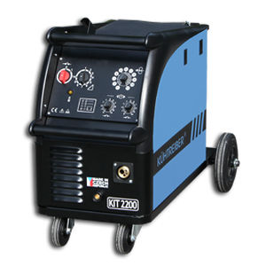 MIG-MAG welder / mobile / electronic / three-phase