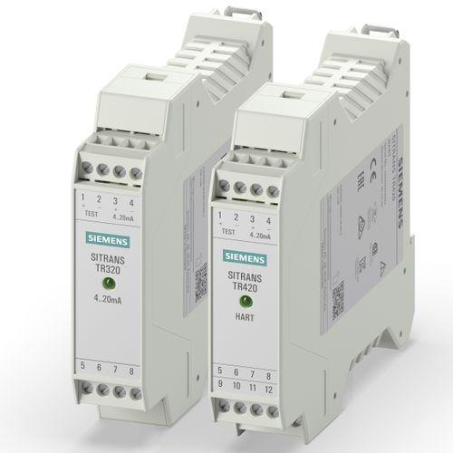 DIN rail mount temperature transmitter - Siemens Process Instrumentation