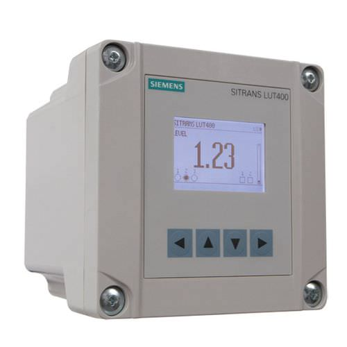 ultrasonic level controller / for hoppers / for solids and liquids