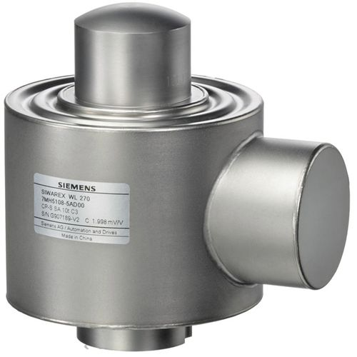 compression load cell / canister / stainless steel / strain gauge