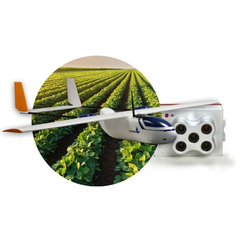 fixed-wing drone / observation / monitoring / for agricultural applications