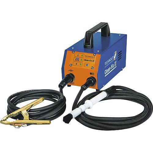 manual cleaning system / for welding applications