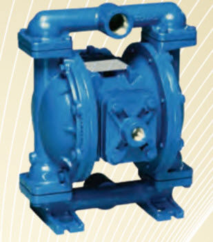 acid pump / for solvents / slurry / pneumatic