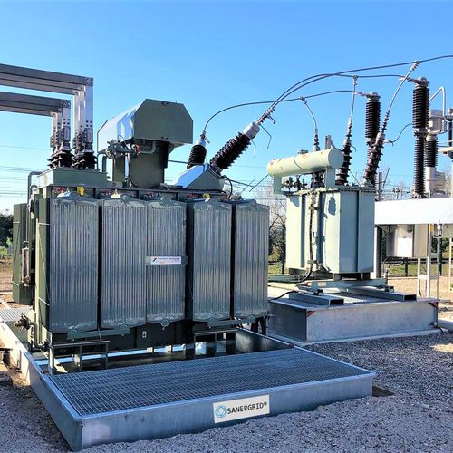 transformer containment bund - SANERGRID