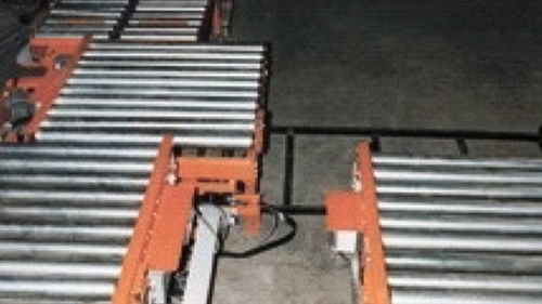 roller conveyor / pallet / stationary