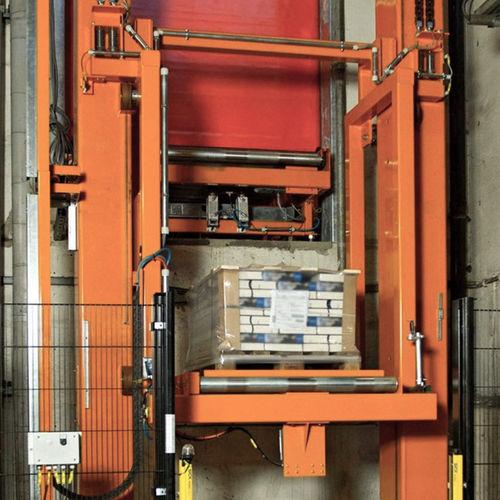 vertical conveyor / pallet / stationary