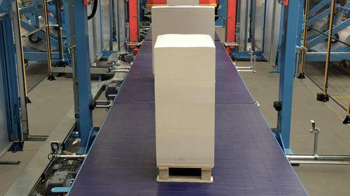 belt conveyor / pallet / transfer / loading