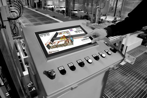 packaging line software / visualization / monitoring / production management