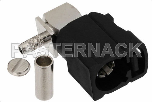RF connector / coaxial / jack / straight