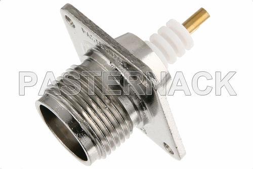 RF connector / radio-frequency / coaxial / rectangular