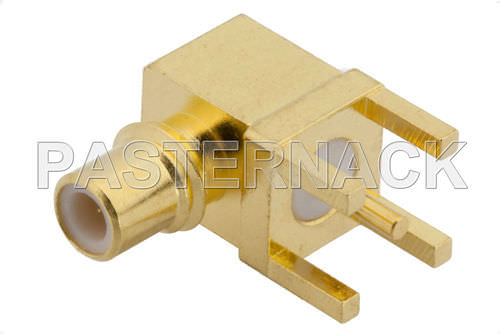 radio-frequency connector / coaxial / jack / elbow