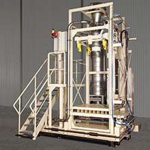 IBC filling system / bulk / fully-automatic / weight