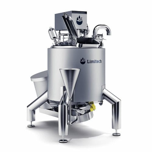dynamic mixer / solid/liquid / for the food industry / vacuum