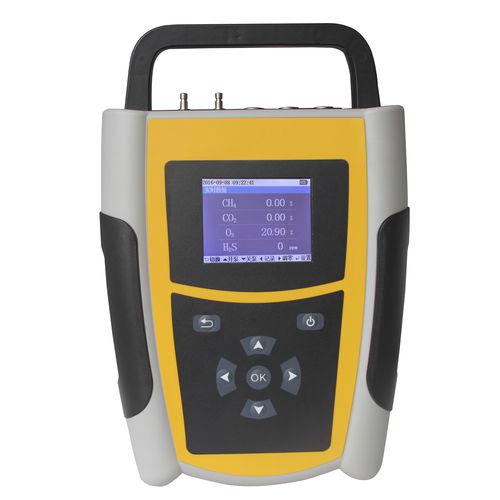 oxygen analyzer / carbon dioxide / methane / process gas
