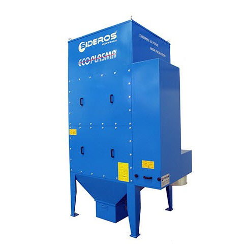 activated carbon dust collector / reverse air cleaning / compact / modular