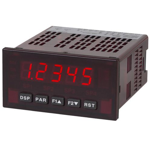 LED display / numeric / 5-digit / programmable