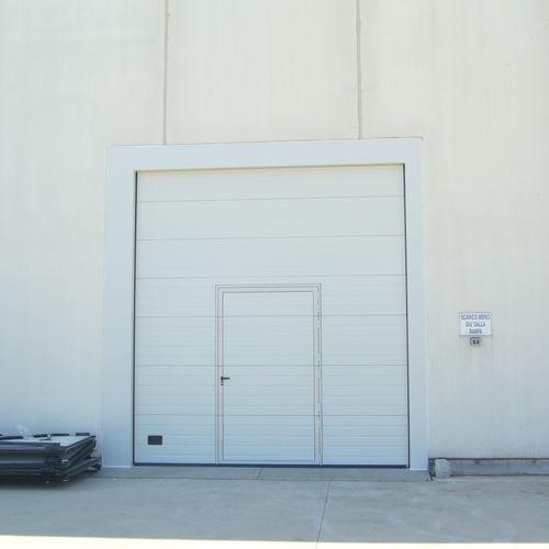 sectional door / indoor / exterior