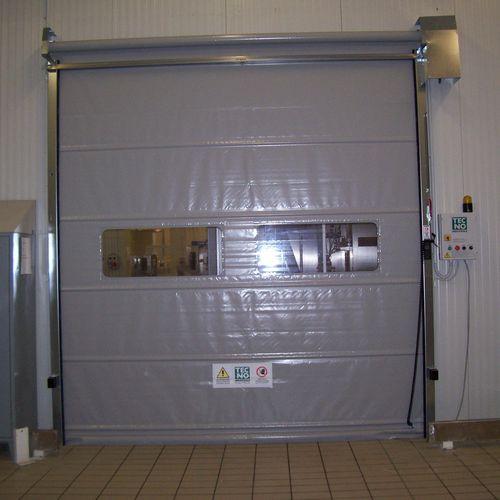 roll-up door / steel / indoor / high-speed